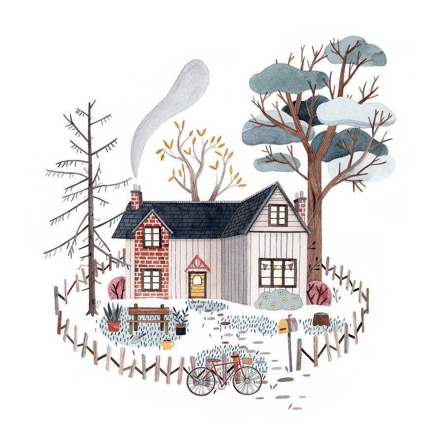 Happy home by Lu-Art