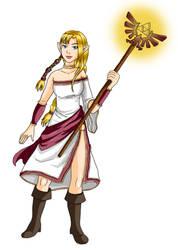 Zelda new version 2 by DoubleDach