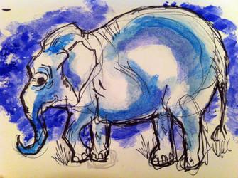 Elephant by MazAdamsArt