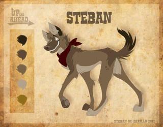 Steban - Character Sheet by Skailla