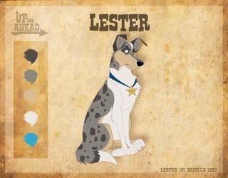 Lester - Character Sheet by Skailla