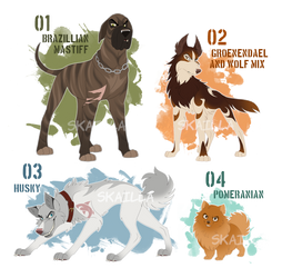 Antagonists! Adoptable Auction - CLOSED by Skailla