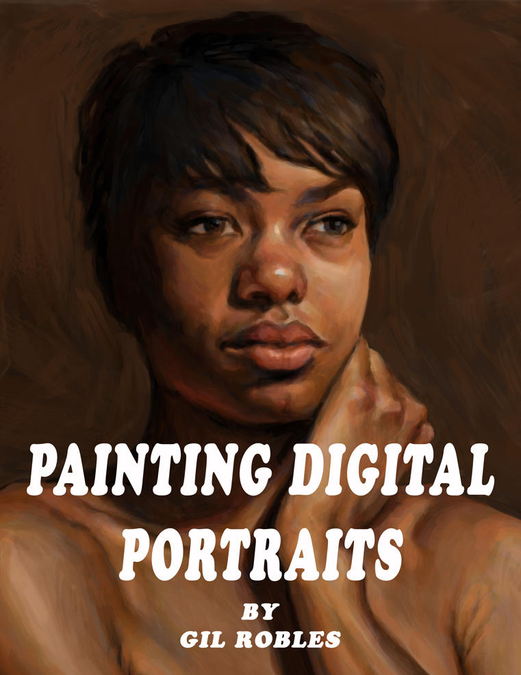 Painting-Digital-Portraits-Cvr by grobles63