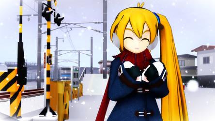 Winter Neru by ejima8