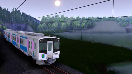 HYBRID TRAIN by ejima8