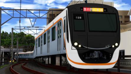 Tokyu Oimachi Line by ejima8