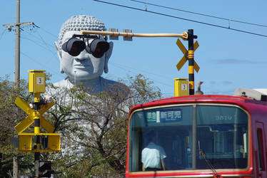 [Railway photo] Sunglasses Daibutsu by ejima8