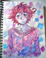 Scetchbook drawing: Diano by SweetJiJiSama