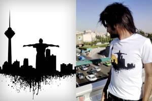 Tehran T-Shirt by NAKOOT