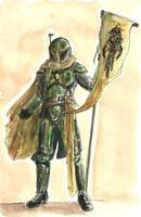 Female Mando Warrior by Atuarre