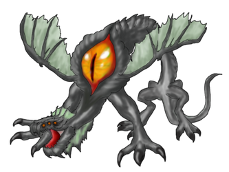 RPG Maker Monster - Basilisk 2 by K-OZ-Will