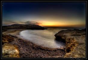 Koubara Beach at Ios by beesy-studio