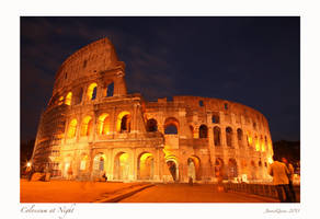 Colosseum at Night by JQ444
