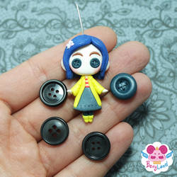Coraline Doll by dragonfly-world