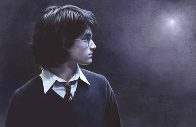 Harry Potter by AmandaTolleson