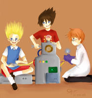 Geniuses Unite :D by twisted-vision