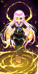 Commission: Yomi by Krokobyaka