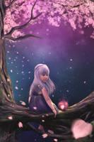 Cherry Blossom by MeeranUhm