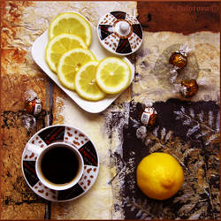 Black coffee with Lemon 2 by AnnaZLove