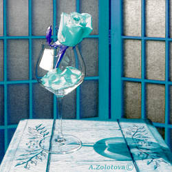 Beauty and the Beast 1. Turquoise addition by AnnaZLove