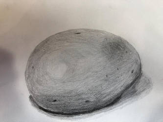 Egg Drawing  by Wolfsongamp