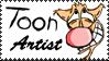 Toon Artist Stamp by Toonfreak