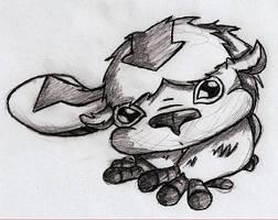 Appa Sketch by Toonfreak