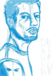 David Blaine - Sketch by Lei22