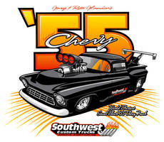 55 Chevy Pro Mod Truck v2 by RobSWD