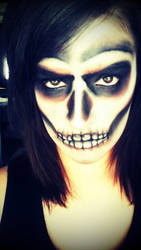 Skull Makeup by Feather3111