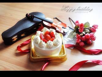 Happy birthday for myself by xsyueix