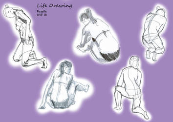 Live drawing compilation 2 by 7oneders