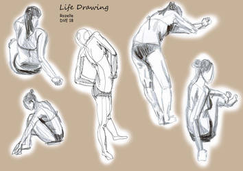 Live drawing compilation 3 by 7oneders