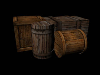 3D barrels by 7oneders