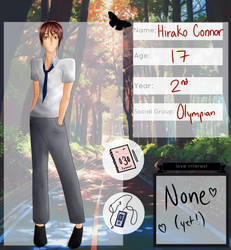 (TG) Hirako Connor by Riku-D