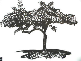 Tree - Ink by Anna-Love