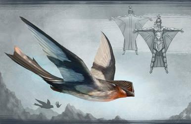 Eyeless Bird by Zhrayde