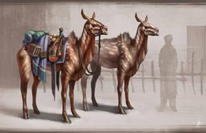 Beast of Burden by Zhrayde