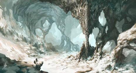 Winter Castle by Zhrayde