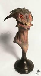Alien concept by Zhrayde