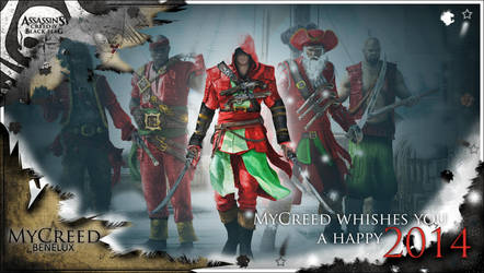 MyCreed Benelux, wishes a Happy 2014! by MyCreedCosplay