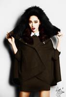 Jessica 1st Look Magazine Colorization by fatz18