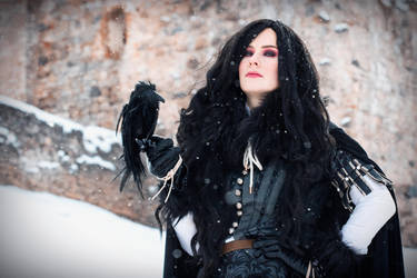 Yen from Witcher series by DungeonQueen