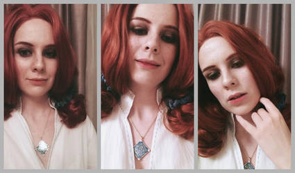 Triss Merigold make-up test by DungeonQueen