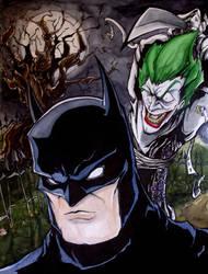 Batman vs. Joker by MatthewFletcher720