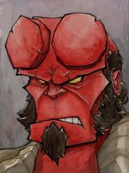Hellboy by MatthewFletcher720