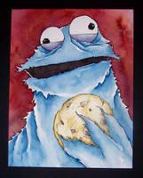 cookie monster by MatthewFletcher720
