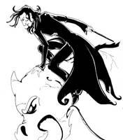 Gargoyle by acatnamedeaster