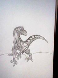 my pet by Dragontamer333
