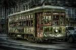 New Orleans Street Trolly by Wizardinc